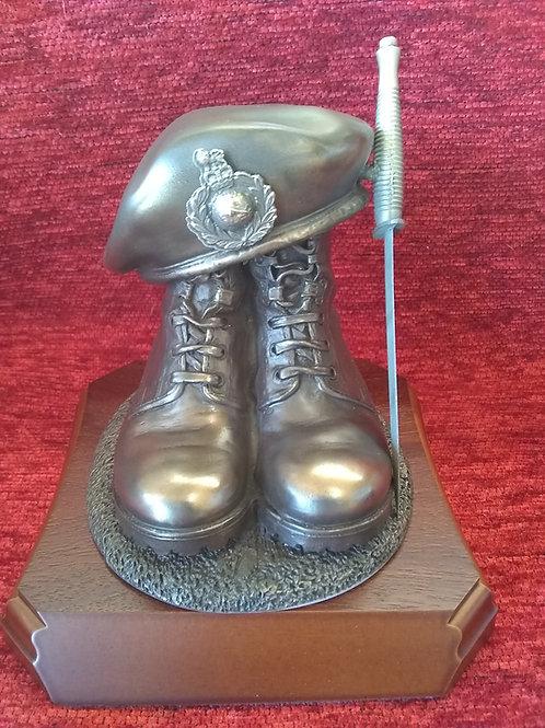 Royal Marines Boots & Beret