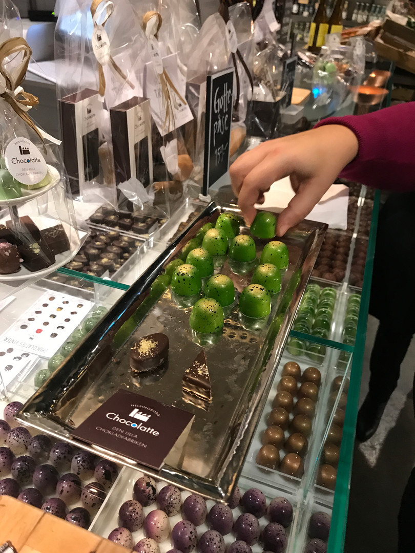 Mojitopraliner hos Chocolatte