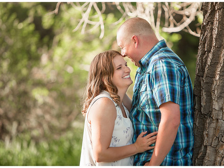 Alynn and DJ  |  Sterling Colorado Engagement and Wedding Photographer