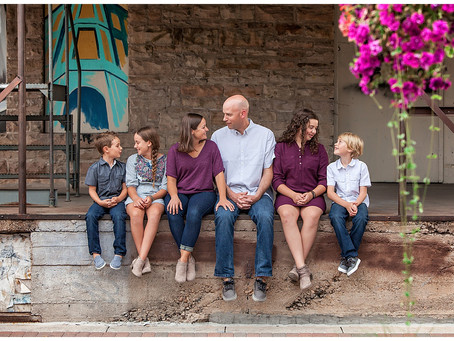 Bosch Family | Photography in Old Town Fort Collins, Colorado