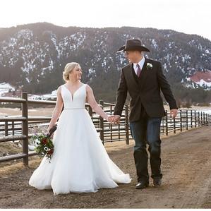 Kaylie & Michael     Spruce Mountain Ranch Wedding Photography