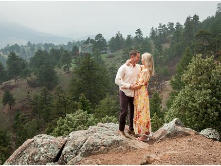 Danielle + Zach  |  Mount Falcon Engagement Photography