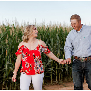 Kaylie + Michael     Country Engagement Session in Wellington, Colorado