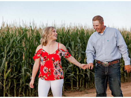 Kaylie + Michael  |  Country Engagement Session in Wellington, Colorado