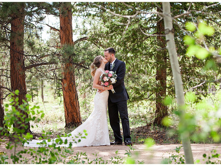 Dan and Jaime  |  Wedding Photography in Red Feather, Colorado