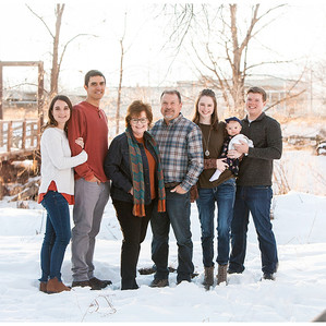 Hough Family Photos  |  Winter Family Photography in Fort Collins, CO