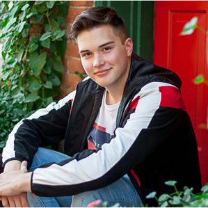 Tyler's Senior Portrait Session | Windsor High School Photographer