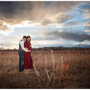 Jackie and Jason's Maternity Photos   Fort Collins, CO