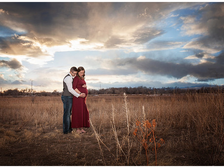 Jackie and Jason's Maternity Photos | Fort Collins, CO