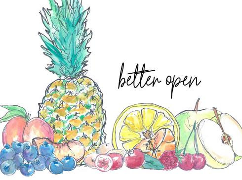 Better open - Ocean Spray fruits
