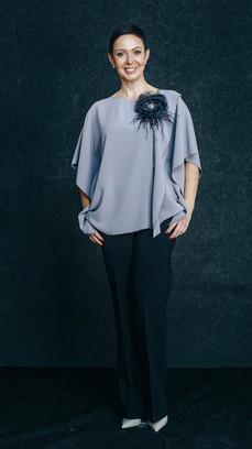 Блуза 5950 руб. Размеры 46-54