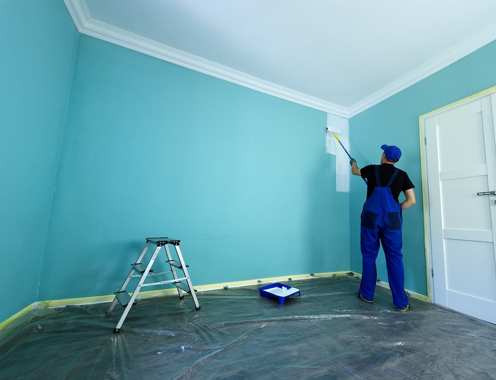 Interior painting in Grosse Pointe, MI