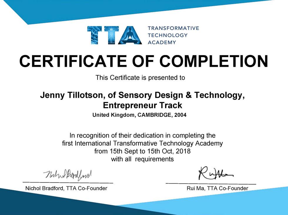 TT Certificate