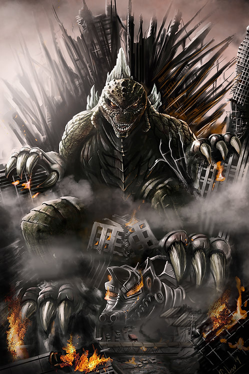 GODZILLA King Of Thrones