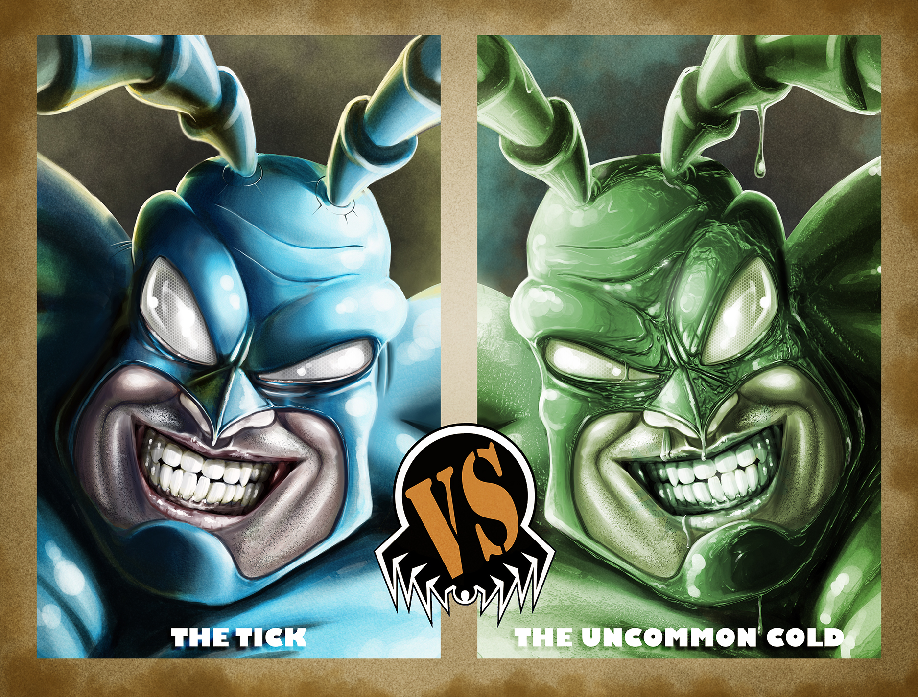 Tick VS Uncommon Cold