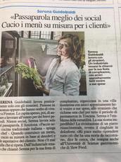 ITALY - LA NAZIONE - October, 2018