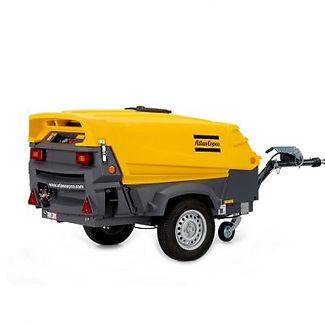 Clacton Tool Hire 150 cfm road compressor