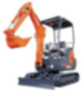 Clacton Tool Hire 1.5 ton excavator