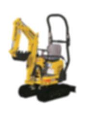 Clacton Tool Hire mini 1.5 ton excavator