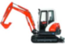 Clacton Tool Hire 3 ton excavator
