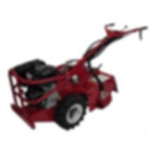Clacton Tool Hire hydraulic rotavator