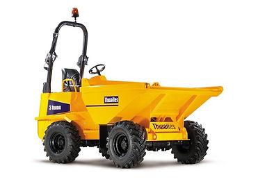 Clacton Tool Hire 3 ton dumper