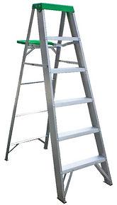 Clacton Tool Hire aluminium steps
