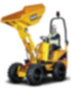 Clacton Tool Hire 1 ton high tip dumper