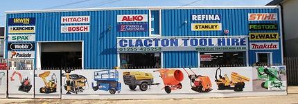 Clacton Tool Hire Shop Front