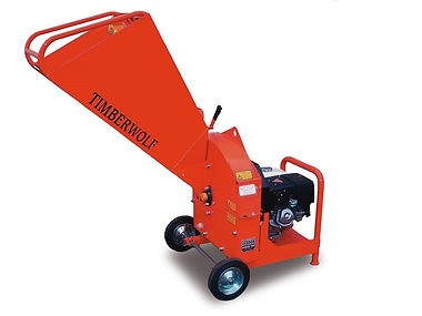Clacton Tool Hire petrol shredder chipper