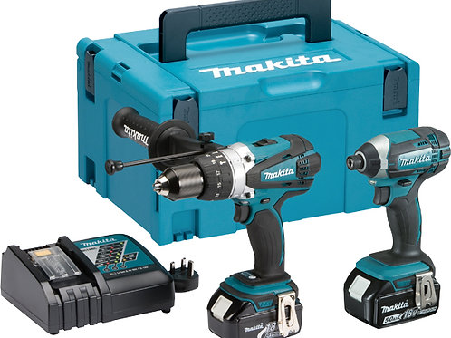 Makita DLX2145TJ 18v Cordless Twin Kit