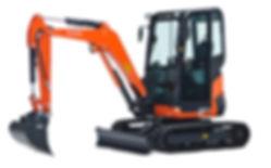 Clacton Tool Hire 2.5 ton excavator