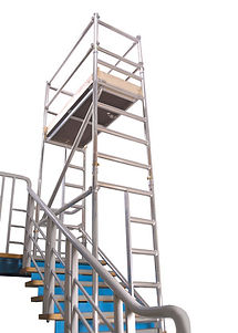Clacton Tool Hire stairwell tower