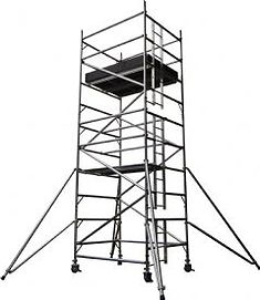 Clacton Tool Hire double span ladder tower