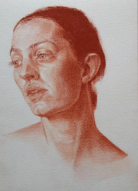 study zelfportret 2018