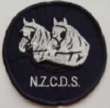 NZCDS Logo - Sew On Badge