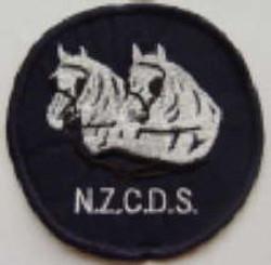 NZCDS Logo - Sew On Badge