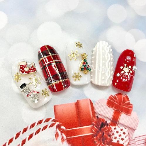 冬・クリスマスアイテム 2個入り(4種類)