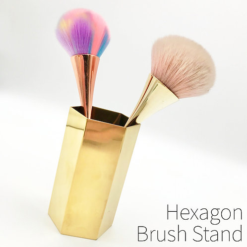 Hexagon Brush Stand