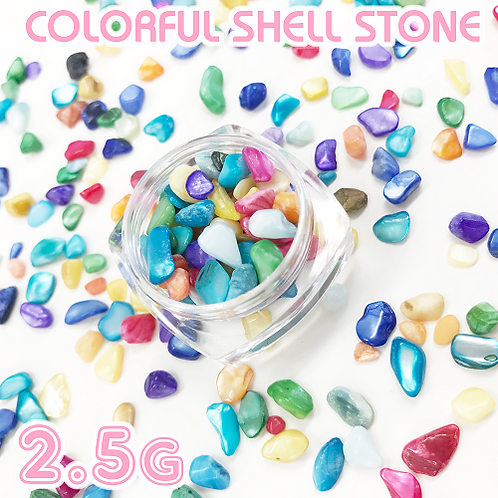 Colorful Shell Stone