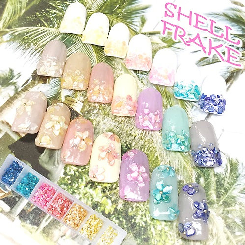 Shell Frake Set Summer-color 7colors 1-2 (クリアケース付き)