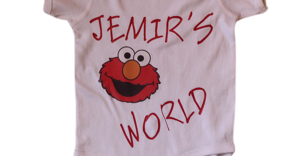 Customized Baby/Toddler onesies & tees