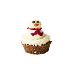 Snowman Pupcake