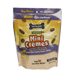 Mini Cremes Carob Wafers Vanilla