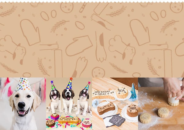 Three Dog Bakery Home Page Banner Mobile