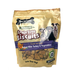Grain Free Biscuits Turkey & Vegs