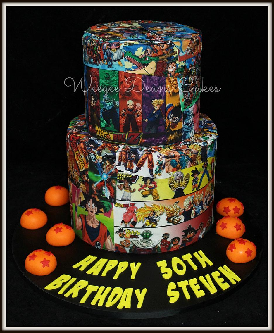 Birthday Cakes Dragon Ball Z