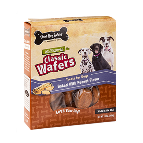 Classic Wafers Baked w/Peanut Butter