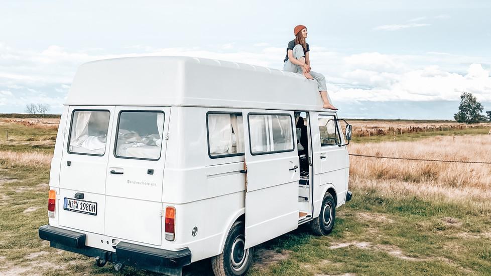 Camping in Polen mit Van