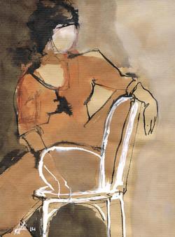 La chaise blanche 2